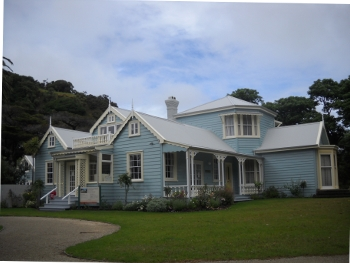 couldrey house in wenderholm regional park