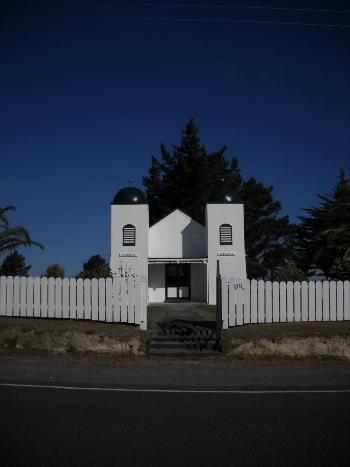 ratana church on the way to waitiki landing